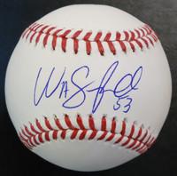 Warwick Saupold Autographed Baseball - Official Major League Ball