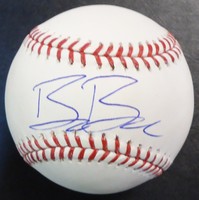 Beau Burrows Autographed Baseball - Official Major League Ball