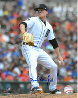Daniel Stumpf Autographed Detroit Tigers 8x10 Photo #1 - The Windup