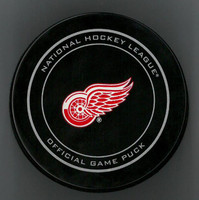 Frans Nielsen Autographed Detroit Red Wings Official Game Puck (Pre-Order)