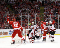 Riley Sheahan Autographed 8x10 Photo #2 - Last Goal at The Joe (Pre-Order)