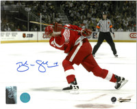 Brendan Shanahan Autographed Detroit Red Wings 8x10 Photo #2 - Home Horizontal