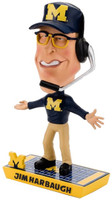 Jim Harbaugh Michigan Wolverines Caricature Bobblehead