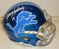 Kenny Golladay Autographed Detroit Lions Mini Helmet - Blaze