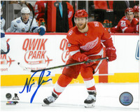 Nick Jensen Autographed Detroit Red Wings 8x10 Photo #3 - Home Action Horizontal