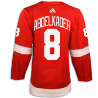 Detroit Red Wings Adidas Authentic Red Jersey - Abdelkader #8
