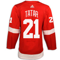 Detroit Red Wings Adidas Authentic Red Jersey - Tatar #21