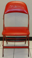 Steve Yzerman Autographed Joe Louis Arena Original Padded Folding Chair (Pre-Order)