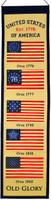 American Flag Wool Heritage Banner