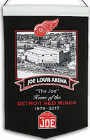 Joe Louis Arena Wool Banner