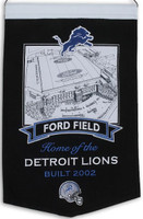 Ford Field Wool Banner