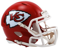 Kansas City Chiefs Riddell Mini Speed Helmet