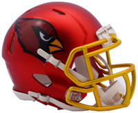 Arizona Cardinals Blaze Alternate Speed Riddell Mini Helmet