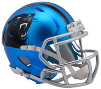 Carolina Panthers Blaze Alternate Speed Riddell Mini Helmet