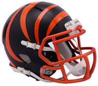 Cincinnati Bengals Blaze Alternate Speed Riddell Mini Helmet