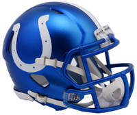 Indianapolis Colts Blaze Alternate Speed Riddell Mini Helmet