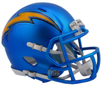 Los Angeles Chargers Blaze Alternate Speed Riddell Mini Helmet