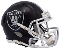 Oakland Raiders Blaze Alternate Speed Riddell Mini Helmet