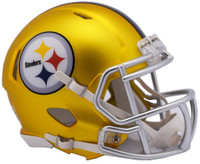 Pittsburgh Steelers Blaze Alternate Speed Riddell Mini Helmet