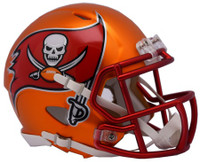 Tampa Bay Buccaneers Blaze Alternate Speed Riddell Mini Helmet