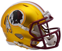 Washington Redskins Blaze Alternate Speed Riddell Mini Helmet
