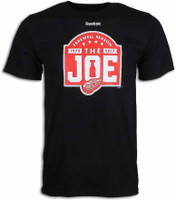 Detroit Red Wings Men's Reebok Black Farewell to the Joe T-Shirt