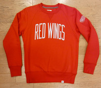 Detroit Red Wings Men's Red Fanatics Crew Sweatshirt