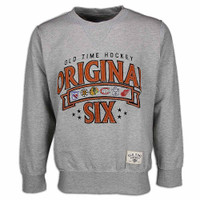 Men's Old Time Hockey Milo Original 6 Crew Neck