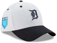 Detroit Tigers New Era 2018 Prolight Batting Practice 39THIRTY Flex Hat - White