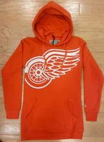 Detroit Red Wings Women's Old Time Hockey Monda Hoodie