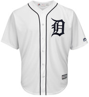 Men's Detroit Tigers Majestic White 2018 Home Cool Base Jersey