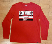 Detroit Red Wings Men's 47 Brand Red Long Sleeve
