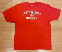 Detroit Red Wings Men's Red Reebok T-Shirt