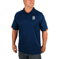 Detroit Tigers Men's Majestic Navy Outburst Polo