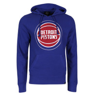 Detroit Pistons Men's 47 Brand Blue Knockaround Headline Fashion Hoodie