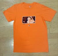 Detroit Tigers Men's Majestic Orange Official Major League Baseball Logo T-shirt