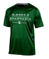Michigan State University Men's Champion Green Training Tshirt