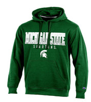 "Michigan State University Men's Champion Green ""Huddle Up"" Hoodie"