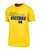 "University of Michigan Men's Champion ""Hail to The Victors"" Maize Tshirt"