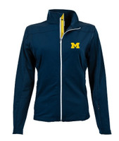 University of Michigan Women's Levelwear Aurora Full Zip - Blue