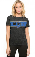 Detroit Lions Women's 47 Brand Clutch Hero T-Shirt