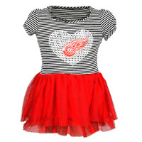 Detroit Red Wings Toddler/Child NHL Apparel TuTu Dress
