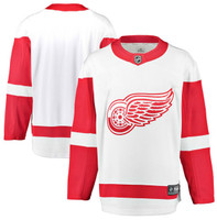 Detroit Red Wings Men's Fanatics Replica Road Jersey - White