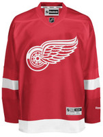 Detroit Red Wings Men's Reebok Replica Home Jersey - Red
