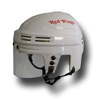 Detroit Red Wings White Mini Helmet