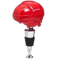 Detroit Red Wings Helmet Bottle Stopper