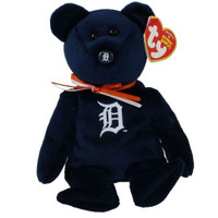 Detroit Tigers Ty Beanie Baby Bear Plush