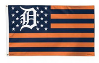 Detroit Tigers Wincraft Deluxe 3x5 Stars & Stripes Flag