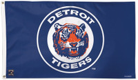 Detroit Tigers Wincraft Deluxe 3x5 1984 Style Flag