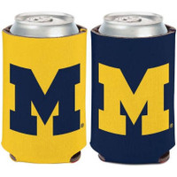 University of Michigan Wincraft 2-Sided Can Cooler